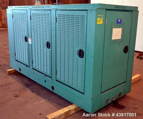Used- Cummins 100 kW standby natural gas generator set, model GGHH-5569198, SN-J020420586. Ford WSG-1068 engine rated 176 HP...