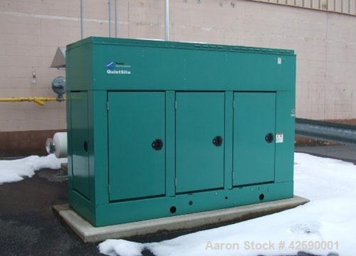 Used Cummins 150 kW standby natural gas generator set. Cummins model GGKD-5641234, Serial #L030579819, Cummins GTA8.3 natura...