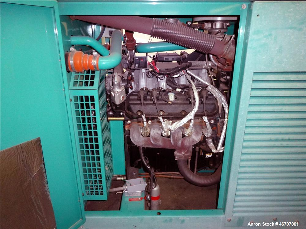 Used- Cummins 150 kW natural gas generator model GGLB. GM8.1L-HO engine.