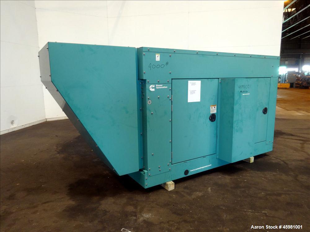 Used- Cummins 150 kW natural gas generator, model GGLB. GM8.1L-HO engine.