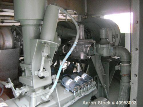 Used-Cummins 400kW continuous rated natural gas generator set. Cummins rich burn engine, model GIA-28. 2113 hours since new ...