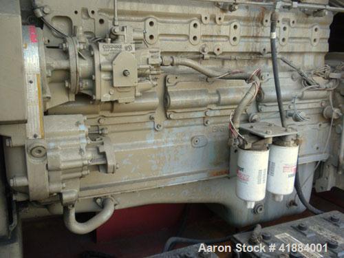 Used- Cummins 200 kW standby diesel generator set. Cummins model NT-855-G4 engine, serial# 1161-7668, Rated 375 hp @ 1800 rp...