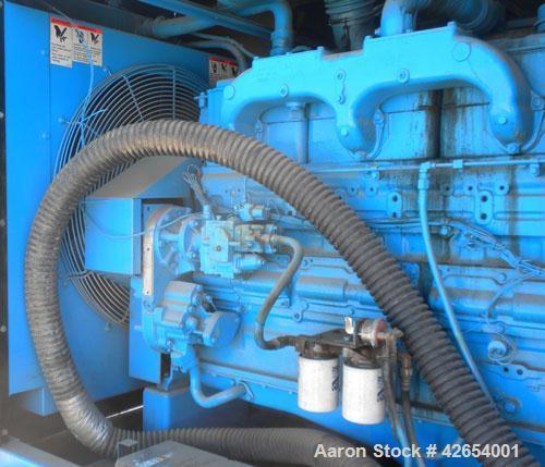 Used- Cummins 200kW portable standby diesel generator set.Cummins model NT-855-G4 engine rated 375HP @ 1800 RPM. 3/60/208-24...
