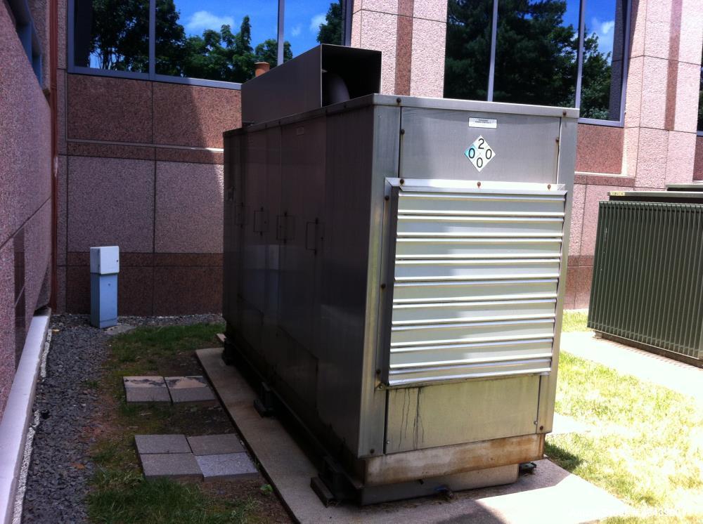 Used- Cummins 350 kW diesel generator. Cummins NT855-G3 engine