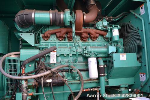 Used- Cummins / Onan 300 kW standby / 270 kW prime diesel generator set. Model DFCB. Cummins NTA-855-G2 engine rated 465HP @...