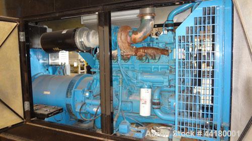 Used- Cummins (Energy Dynamics) 350 kW standby diesel generator set. Cummins NTA855-G3 engine rated 535 HP @ 1800 RPM, SN-11...