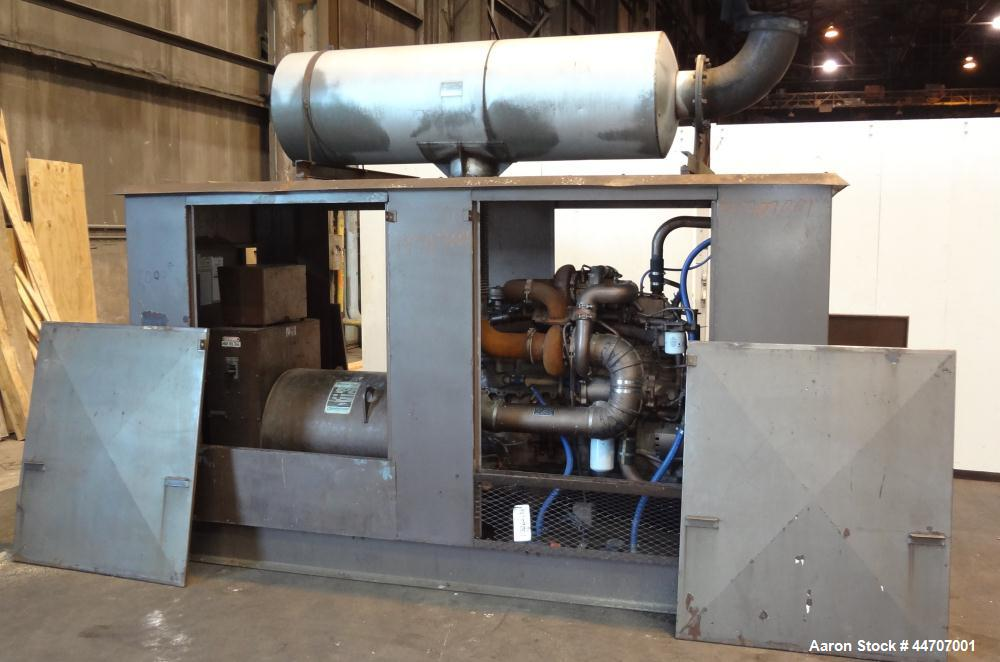 Used- Cummins 350 kW standby diesel generator set, Cummins NTTA855G2 engine rated 535 HP @ 1800 RPM, SN-18109439. 3/60/277/4...