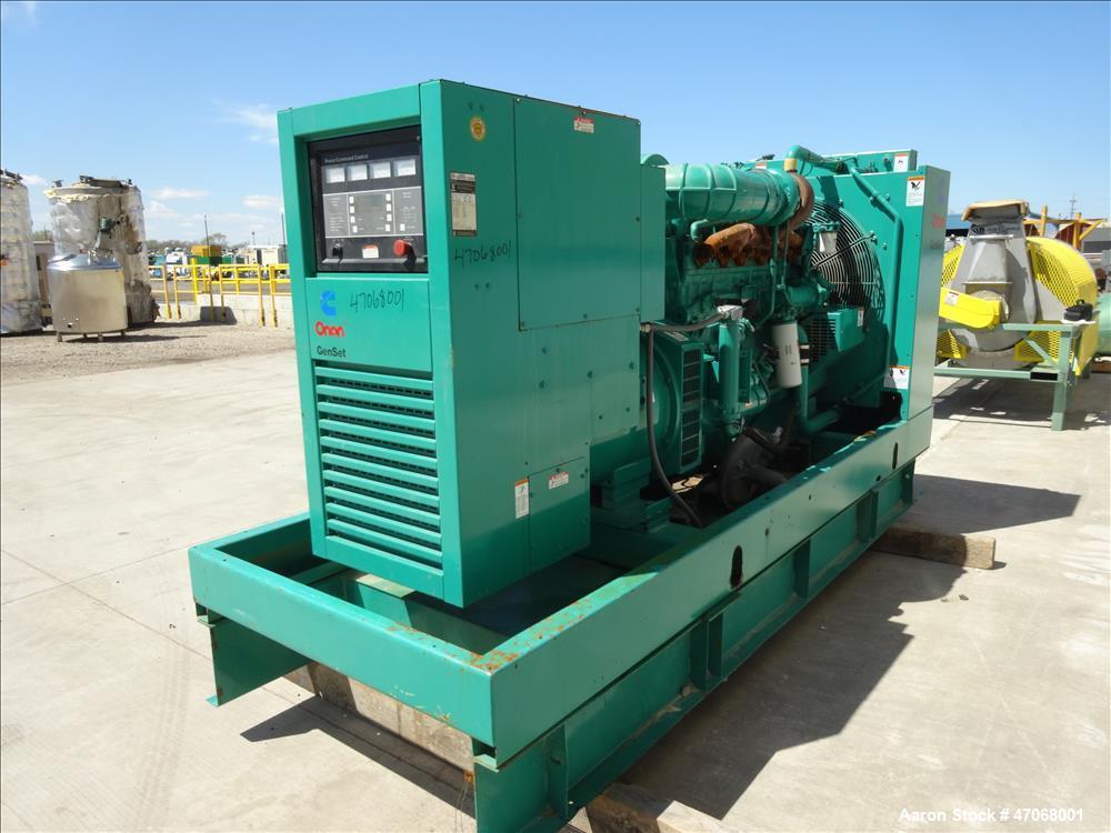 Used-Cummins 275 kW diesel generator  model 275DFBF. Cummins NT855-G6 engine