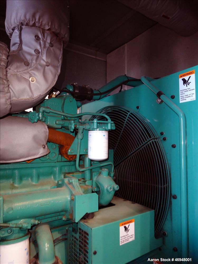Used- Cummins 350 kW diesel generator  model DFCC. Cummins NTA855-G3 engine
