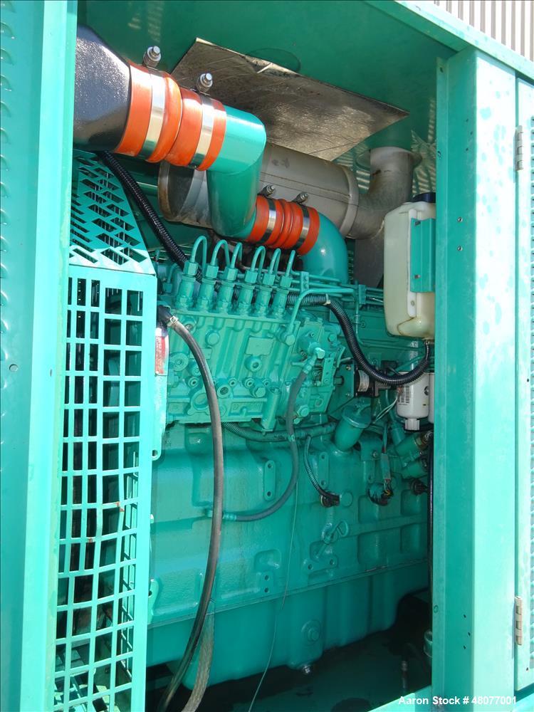 Used-Cummins 200 kW  model DGFC. Cummins 6CTAA8.3-G2 engine.