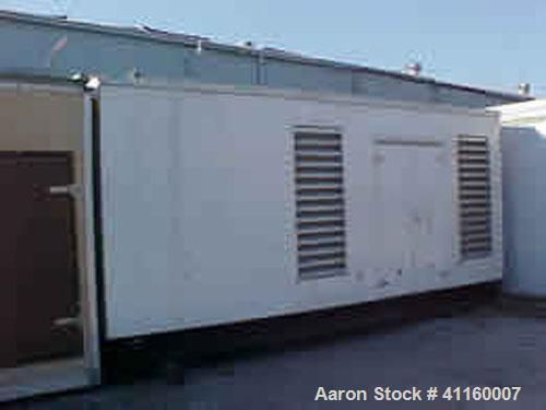 Used-Cummins / Onan 750 kW Diesel Generator Set. 3/60/277/480V. Cummins QST30 engine. Onan model DFHA, 1800 rpm, 0.8 pf, 10 ...
