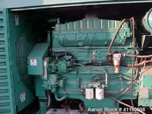 Used-Cummins / Onan 400 kW Diesel Generator Set. 3/60/277/480V. Cummins NTA855G5 engine. Onan model 400 DFCE, 1800 rpm, 0.8 ...