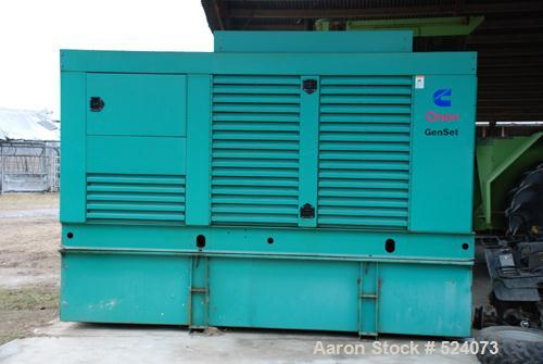 USED: Cummins/Onan genset, 230 kW. Manufactured in 2001. 180 hours.Includes switchbox.