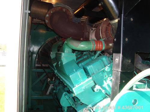 Used- Cummins 2000 kW Standby Utility Grade Portable/Trailer Diesel Generator Se