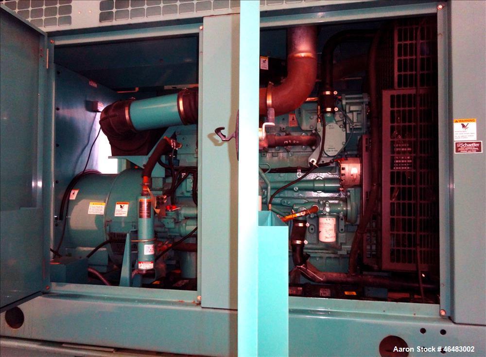 Used- Cummins 500 kW Diesel Generator Model DFEK. Cummins QSK15-G9 Engine.