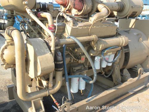 Used- Cummins 510 kW Standby Generator Set. 3/60/277/480V. Cummins Engine Model VTA-1710-GS, Engine No. 37102212. Stand alon...