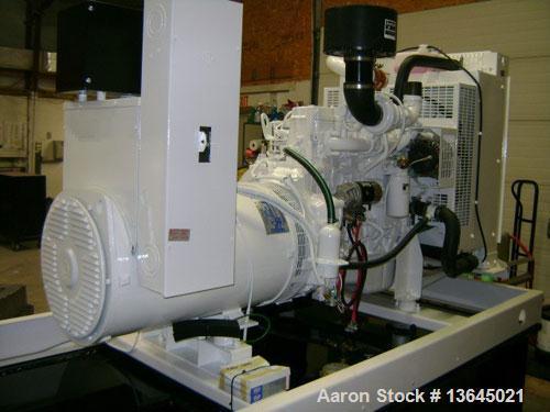 Unused-NEW Cummins powered 130 kW standby diesel generator set. Cummins QSB5-G6 EPA tier 3 engine rated 208 HP @ 1800 RPM. M...