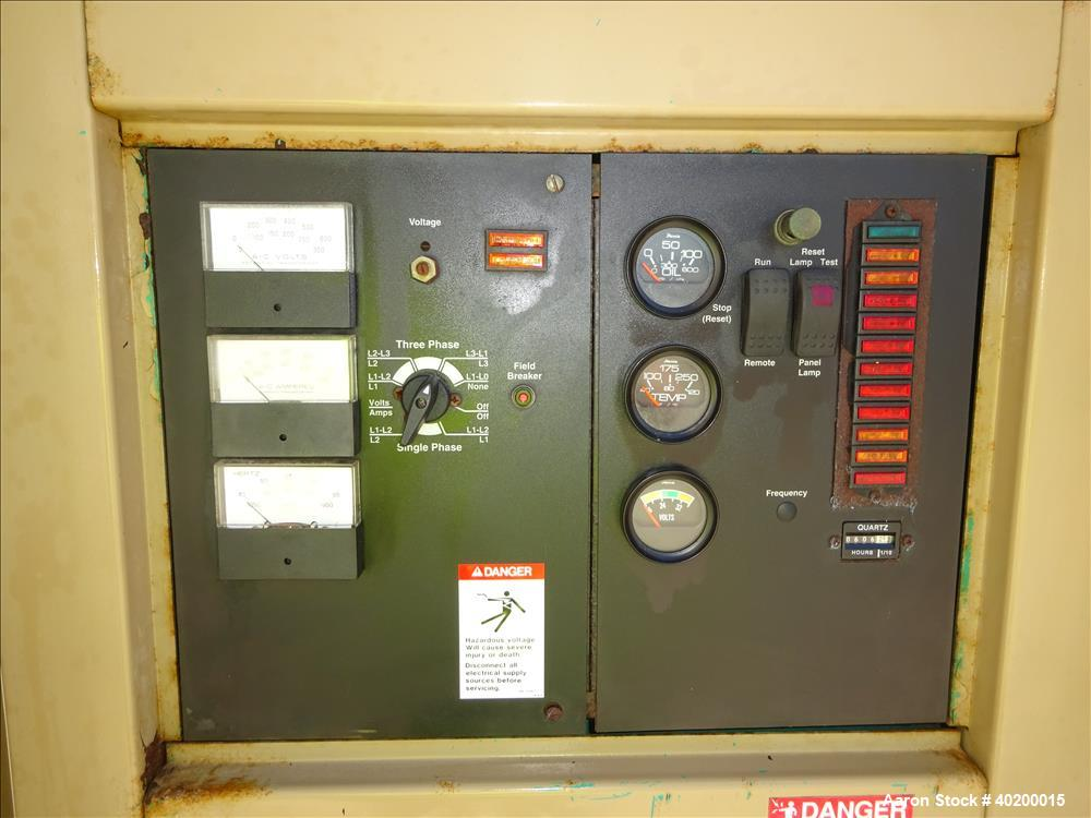 Used- Cummins 250 kW standby natural gas generator set type HC I434F1,