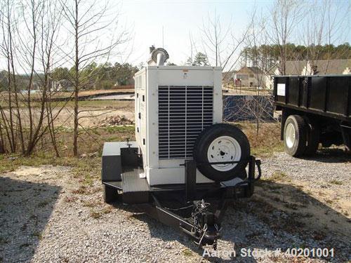 Unused-Used: Cummins 175 kW diesel generator set, model 175DGFB, trailer mounted. 3/60/277/480V, 260 hours. Manufactured 3/1...