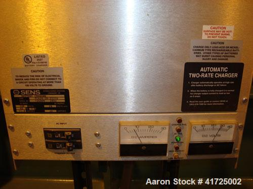 Used-Cummins 1100 kW Cont Rated Natural Gas Generator Set. Cummins QSV81-G engine, 1200 rpm. Newage Stamford end, 3/60/480V....
