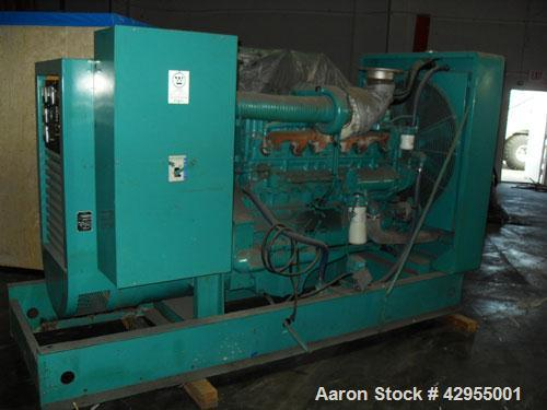 Used-Cummins Onan Generator, 250 kW, only 484 hours.