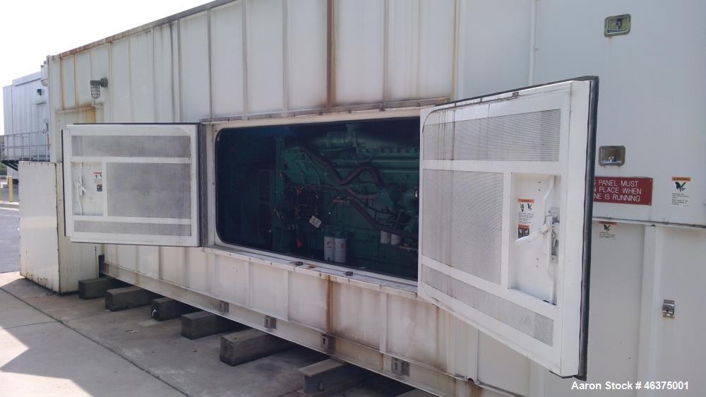 Used- Cummins 1500 kW standby (1250 kW prime) diesel generator set, model 1500DFLE, SN-K010303579. Cummins KTA-50-G9 engine ...