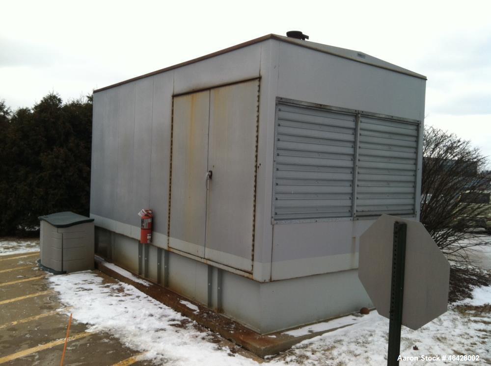 Used-Cummins 750 kW  diesel generator  model 750 DFHA. Cummins QST30-G2 engine