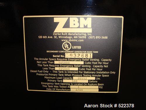 Unused-NEW- Cummins Powered 300 kW standby / 270kW prime rated diesel generator set. Cummins QSM11-G4 SN-35240844 EPA tier 3...