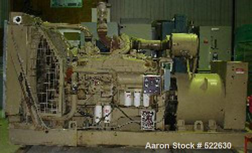 USED: Cummins 500 kW diesel generator set. Marathon generator, model680FDR7028GHW. Standby rated at 500 kW (625 kva). 277/48...