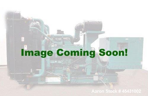 Used-Detroit Diesel 900 kW continuous duty generator set, model DASE0418900. 16V-92 engine, SN-16VF011228. 3/60/277/480V Mar...