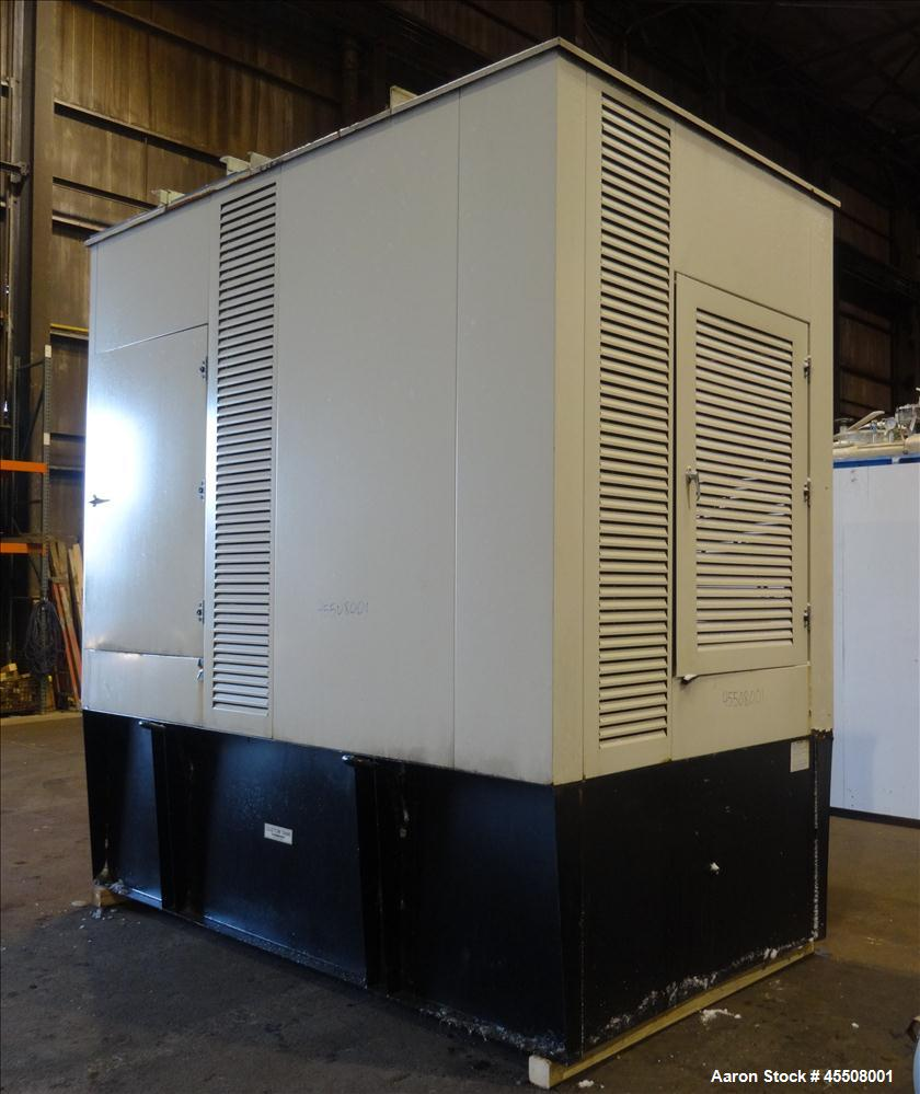 Used-Detroit Spectrum 405 kW Diesel Generator Set, Model 400DS