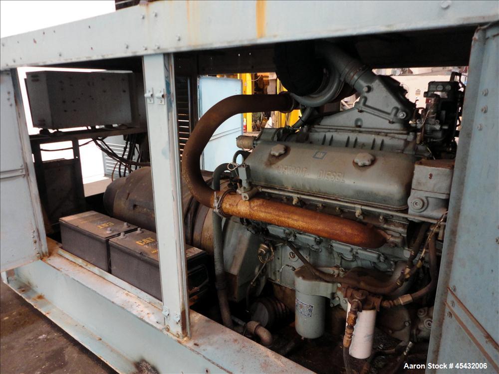 Used- Detroit Diesel 200 kW diesel generator set
