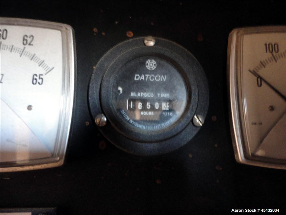 Used- Detroit Diesel 300 kW diesel generator.  Detroit Diesel 6V-92TA engine.
