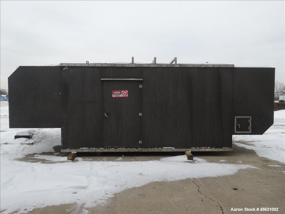 Used-Detroit Diesel 500kW standby diesel generator set. Detroit Diesel 12V-71TA