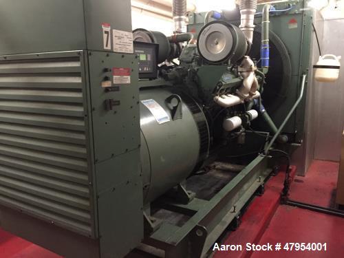 Used- Detroit Diesel 565 kW Diesel Generator Set.