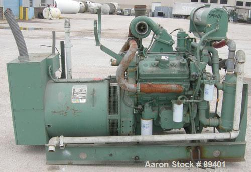 USED: Detroit Diesel generator rated 280 kW standby. Rated 250 kW continuous, 3/60/277-460 volt. Detroit Diesel Engine model...