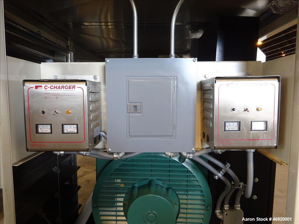 Used- Energy Dynamics 400 kW standby diesel generator set model EDI-400-V.