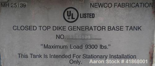 Used- Elilott Magnetek 100 kW standby diesel generator Set, model 100RD, SN-8108J552. Perkins model 1006-6T turbocharged eng...