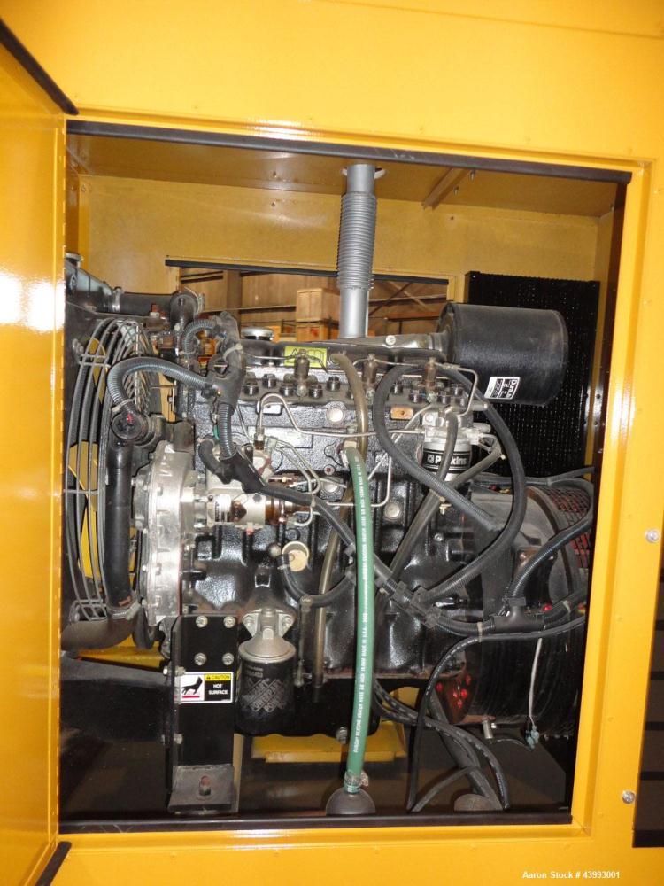 Used- Elliott 40kW Standby Diesel Generator Set, Model 40RD, Serial BY07J593. Perkins Engine 4.236D. 3/60/208V 12 lead recon...
