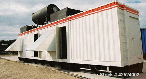 Used-EMD V45 Industrial Diesel Generator, 2500 kW continuous, 2750 kW standby, 50 hz, 3300V, 750-900 rpm, 0 hours since rebu...