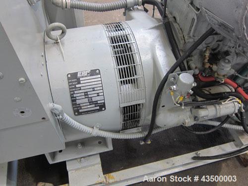 Used- EPS (Enterprise Power Systems) 40kW Diesel Generator Set. Perkins model 4246 engine SN-LQ336264223688S. 1/60/120/240V....