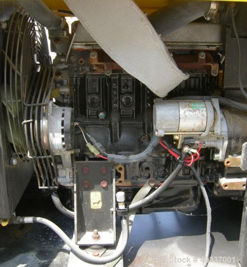 Used-Wacker model G-25, S/N 5112687, contiuous rating, 3 phase -18 kW/23 kVa , volts 208/480, amps 62/27, 1 phase 15 kW/15 ...