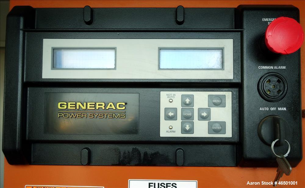 Used- Generac 70 kW Standby (63 kW Prime) Natural Gas Generator Sset, Model SG07