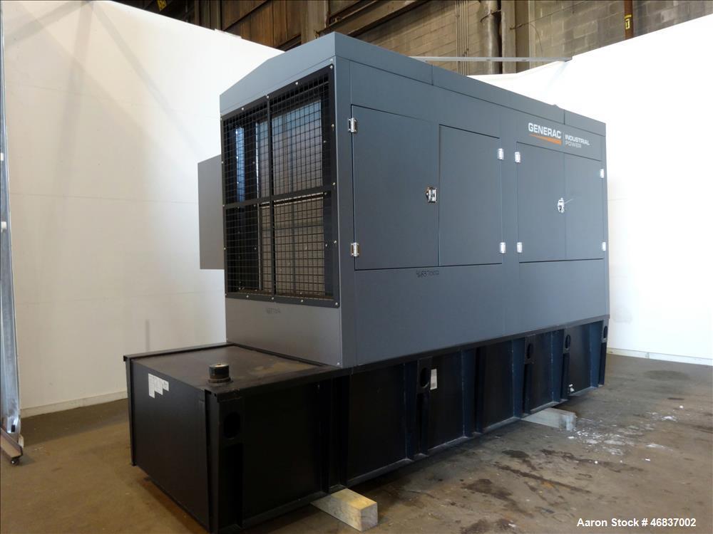 UNUSED- Generac 500 kW standby (440 kW prime) diesel generator set model 1392776