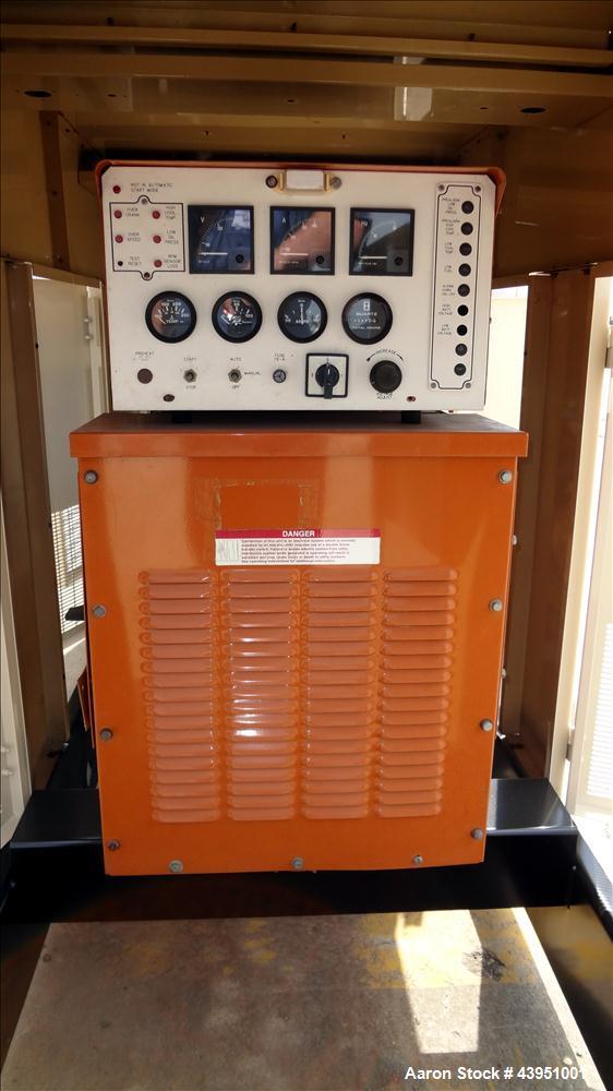 Used- Generac 80 kW standby propane fuel generator set, model 96A02334-S.