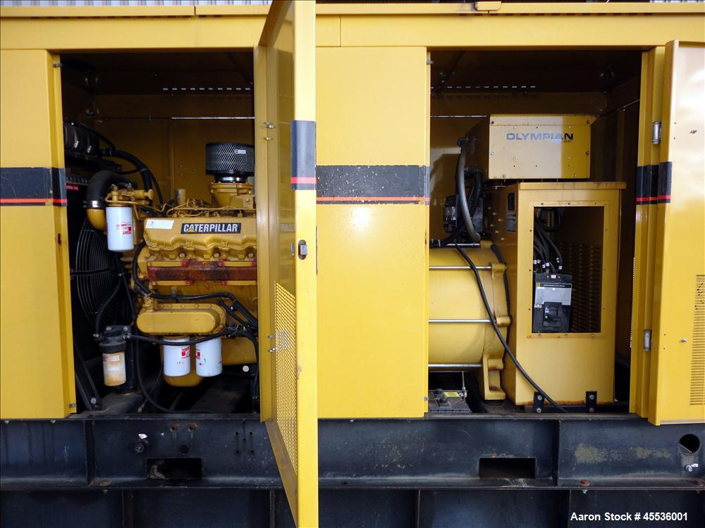 Used-Caterpillar / Olympian 150 kW Standby Diesel Generator Set, Model 96A06195S