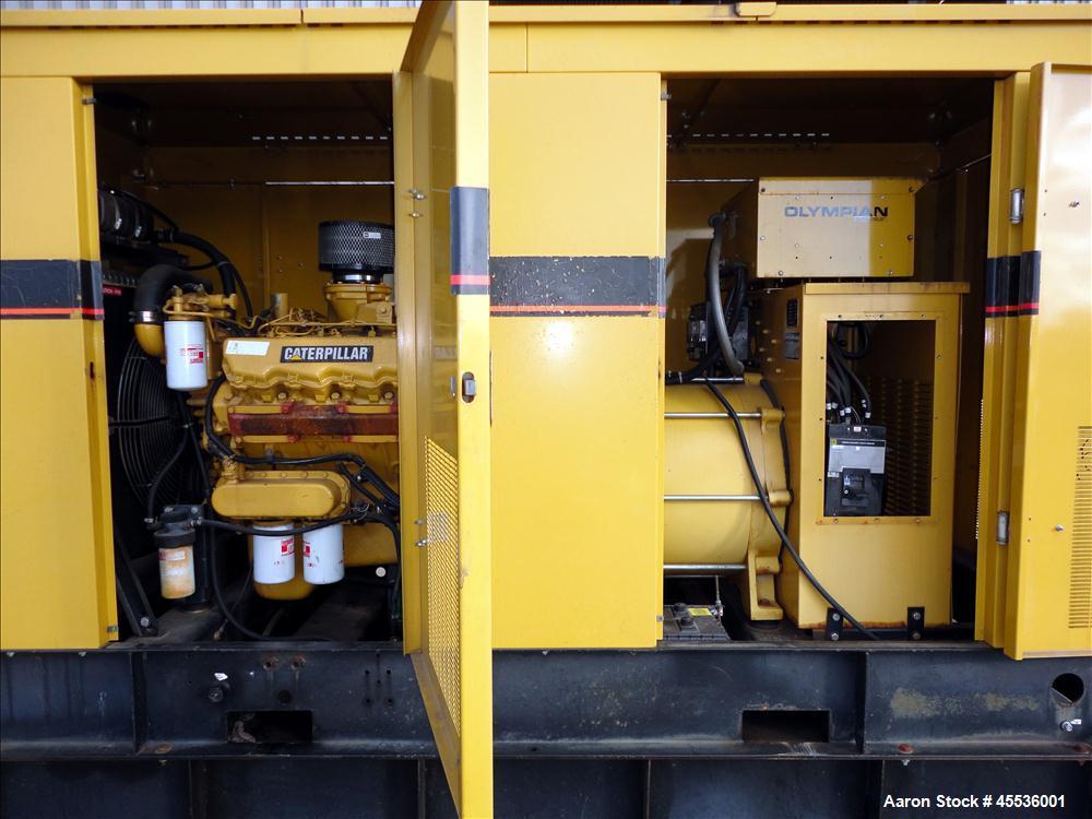 Used-Caterpillar / Olympian 150 kW Standby Diesel Generator Set, Model 96A06195S
