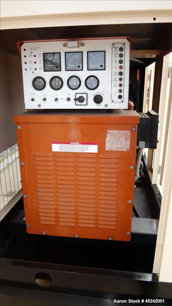 Used- Generac 100 kW Diesel Generator Set, Model 97A04577-S
