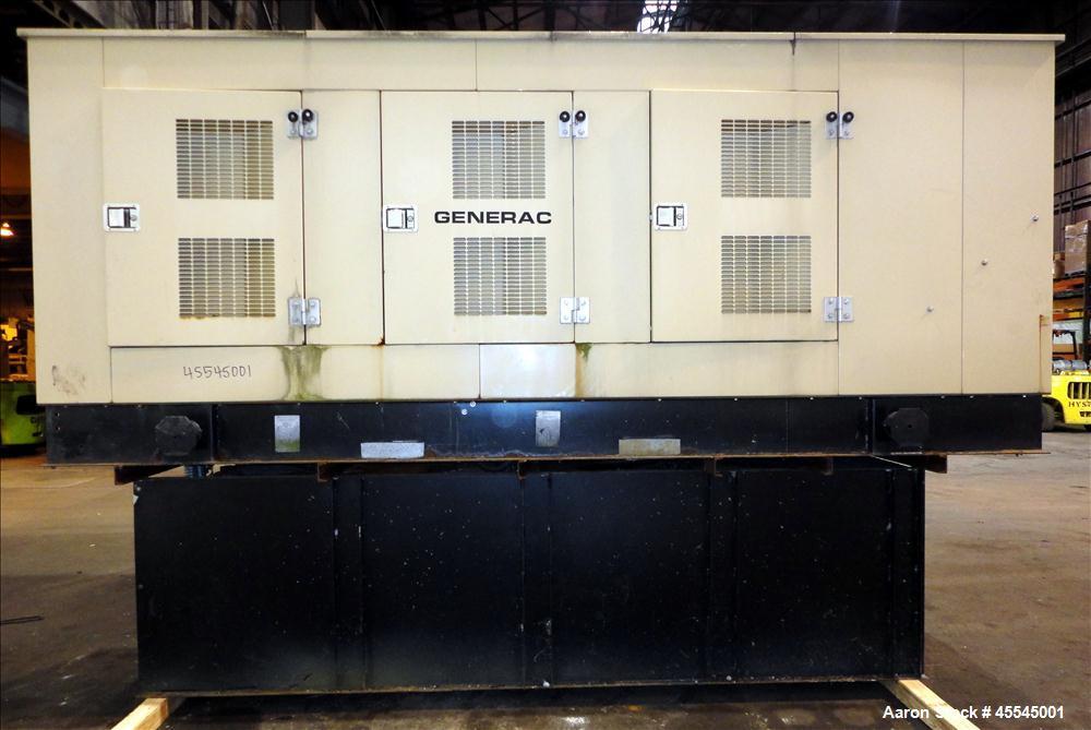 Used-Generac 300 kW Standby (270 kW Prime) Diesel Generator Set, Model 99A-02726S