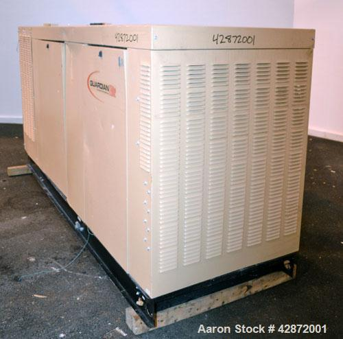 Used- Generac 150 kW Natural Gas Generator Set, Model QT15068ANSN SN-4842574, Ford model WSG1068 SN-07VS65939. 1/120/240V. 7...